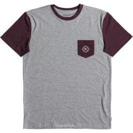 Футболка мужская Quiksilver, цвет: серый. EQYKT03733-SJSH. Размер XXL (54)