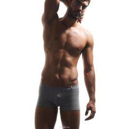 Трусы-боксеры мужские Griff, цвет: светло-серый меланж. U01232. Размер XL (50)