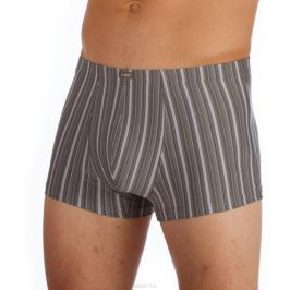 Трусы-боксеры мужские Lowry, цвет: оливковый, серый. MSHL-403. Размер XXL (52)