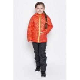 Куртка для девочки Boom!, цвет: красно-оранжевый. 70024_BOG_вар.2. Размер 116, 5-6 лет