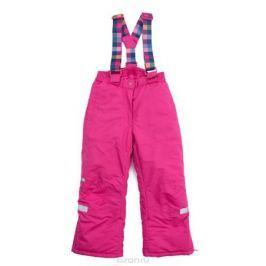 Брюки утепленные для девочки PlayToday, цвет: розовый. 379003. Размер 98
