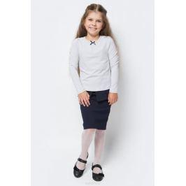Блузка для девочки Nota Bene, цвет: серый. CJR27031A20. Размер 122