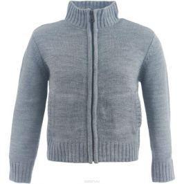 Кофта для девочки Button Blue, цвет: темно-серый. 217BBGC35032300. Размер 104, 4 года