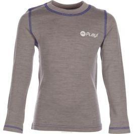 Термобелье кофта детская atPlay!, цвет: серый, фиолетовый. 3tjk761. Размер 158