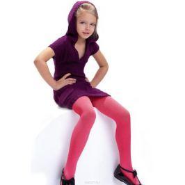 Колготки для девочки Knittex, цвет: малиновый. Agatka. Размер 146/152