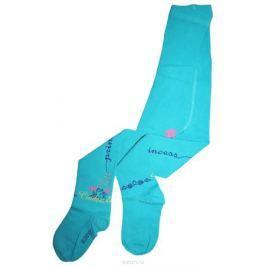 Колготки для девочки Master Socks Disney Princess, цвет: бирюзовый. 11200. Размер 98/104