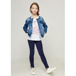 Футболка для девочки Zarina, цвет: белый. 8123523423001D. Размер 134