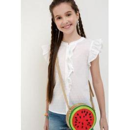 Блузка для девочки Acoola Tualang, цвет: белый. 20210270033_200. Размер 158