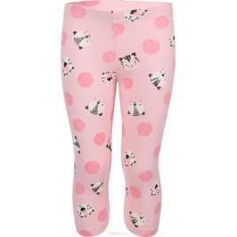 Брюки для девочки Sela, цвет: розовый, светло-розовый, 2 шт. PLGs-515/518-8213-2set. Размер 116