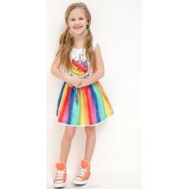 Платье для девочки Acoola Narmada, цвет: мультиколор. 20220200260_4400. Размер 92