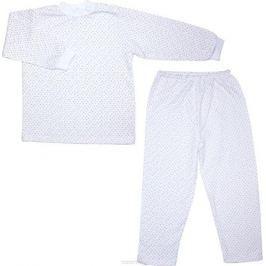Пижама детская Осьминожка, цвет: молочный с рисунком. 416-06. Размер 110