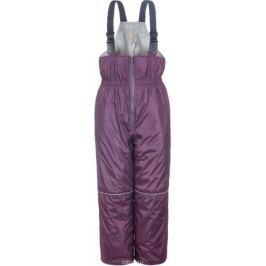 Полукомбинезон детский M&D, цвет: фиолетовый. 2БП217П12. Размер 116