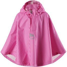 Плащ детский Reima, цвет: розовый. 5215524623. Размер 134