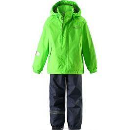 Комплект одежды детский Lassie: куртка, брюки, цвет: зеленый. 7237218270. Размер 140