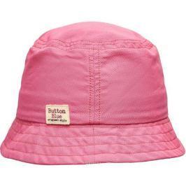 Панама для девочки Button Blue, цвет: розовый. 118BBGX70011200. Размер 50