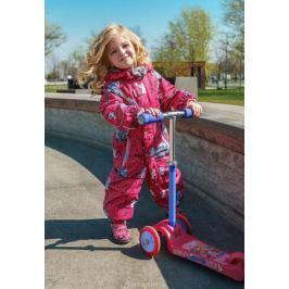 Комбинезон утепленный для девочки Oldos Active Анси, цвет: фуксия. 2A8OV03. Размер 98, 3 года