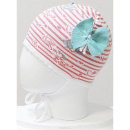 Шапка для девочки Marhatter, цвет: коралловый. MGH6400. Размер 50/52