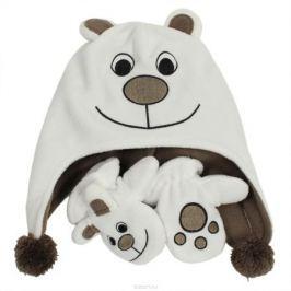 Флисовый комплект для малышей Huppa BRUNO, цвет: белый. 8819AS14-010. Размер 1 (48)