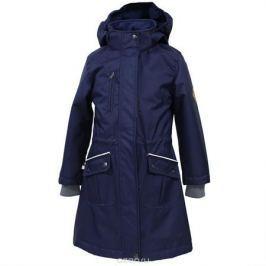 Куртка для девочки Huppa Mooni, цвет: темно-синий. 17850010-70086. Размер 158