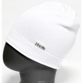 Шапка для девочки Marhatter, цвет: белый. MFH5600. Размер 55/56