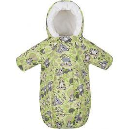 Конверт прогулочный детский Reike, цвет: светло-зеленый. 40 100 007_KL(80) lime. Размер 62, 3 месяца