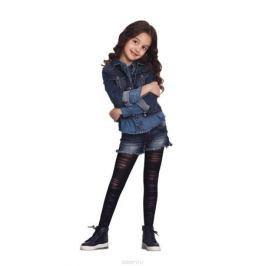 Колготки для девочки Penti Slash 60, цвет: черный. m0c0327-0173 PNT_500. Размер 2 (101/112)