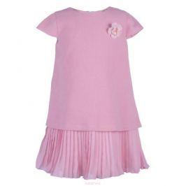 Платье для девочки Button Blue Party, цвет: розовый. 118BBGP25071200. Размер 152