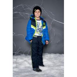 Брюки утепленные для мальчика Sweet Berry, цвет: темно-синий. 733091. Размер 98