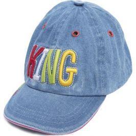Бейсболка для мальчика PlayToday Джунгли зовут!, цвет: синий. 187076. Размер 46