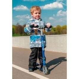 Комплект верхней одежды для мальчика Oldos Active Ларри: куртка, брюки, цвет: голубой, горчичный. 2A8SU22. Размер 92, 2 года