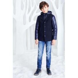 Куртка для мальчика Смена, цвет: синий. 17с264. Размер 146/152