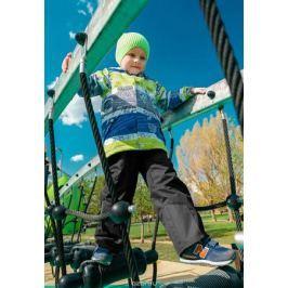 Комплект верхней одежды для мальчика Oldos Active Ларри: куртка, брюки, цвет: синий, салатовый, черный. 2A8SU22. Размер 92, 2 года
