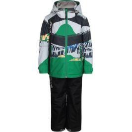 Комплект верхней одежды для мальчиков atPlay!: куртка, брюки, цвет: зеленый. 2su814. Размер 140