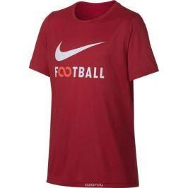 Футболка для мальчика Nike Dry, цвет: красный. 913170-657. Размер XL (158/170)
