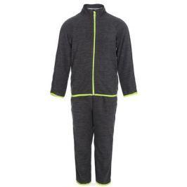 Комплект детский флисовый Oldos Active Инди: кофта, брюки, цвет: светло-серый. 4КС1702. Размер 86, 1,5 года