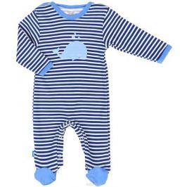 Комбинезон домашний для мальчика КотМарКот, цвет: синий, белый. 6711. Размер 62