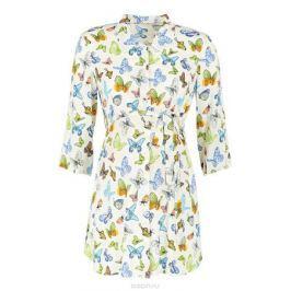 Блузка для беременных и кормящих Mammy Size, цвет: молочный. 118741. Размер 42