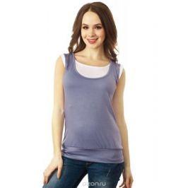 Майка для беременных и кормящих Mum's Era Корнелия, цвет: светло-серый. 34755. Размер XS (40/42)
