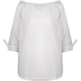 Блузка для беременных и кормящих Mammy Size, цвет: белый. 126381. Размер 44