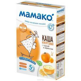 Мамако каша кукурузная с тыквой и абрикосом на козьем молоке, 200 г