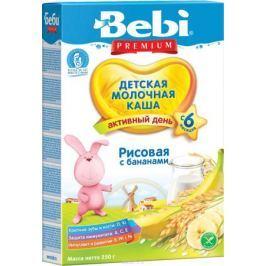 Bebi Премиум каша рисовая с бананами молочная, с 6 месяцев, 250 г