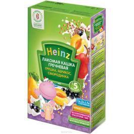 Heinz Лакомая каша гречневая грушка, абрикос, смородинка, с 5 месяцев, 200 г