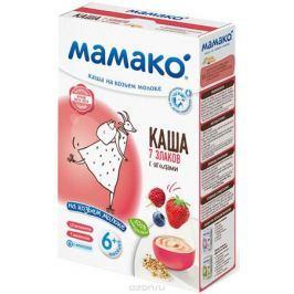 МАМАКО Каша 7 злаков с ягодами на козьем молоке, 200 г