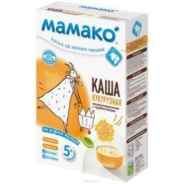 Мамако каша кукурузная с пребиотиками на козьем молоке, 200 г