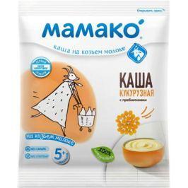 Мамако каша кукурузная с пребиотиками на козьем молоке, 30 г