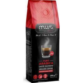 Must Pure Arabica кофе молотый, 250 г