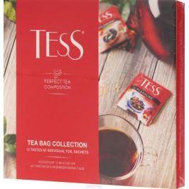 Tess Коллекция чая и чайных напитков в пакетиках, 60 шт