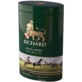 Richard Royal Green Polo зеленый крупнолистовой чай, 80 г