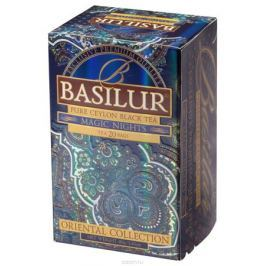 Basilur Magic Nights черный чай в пакетиках, 20 шт
