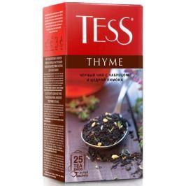 Tess Thyme черный чай в пакетиках, 25 шт